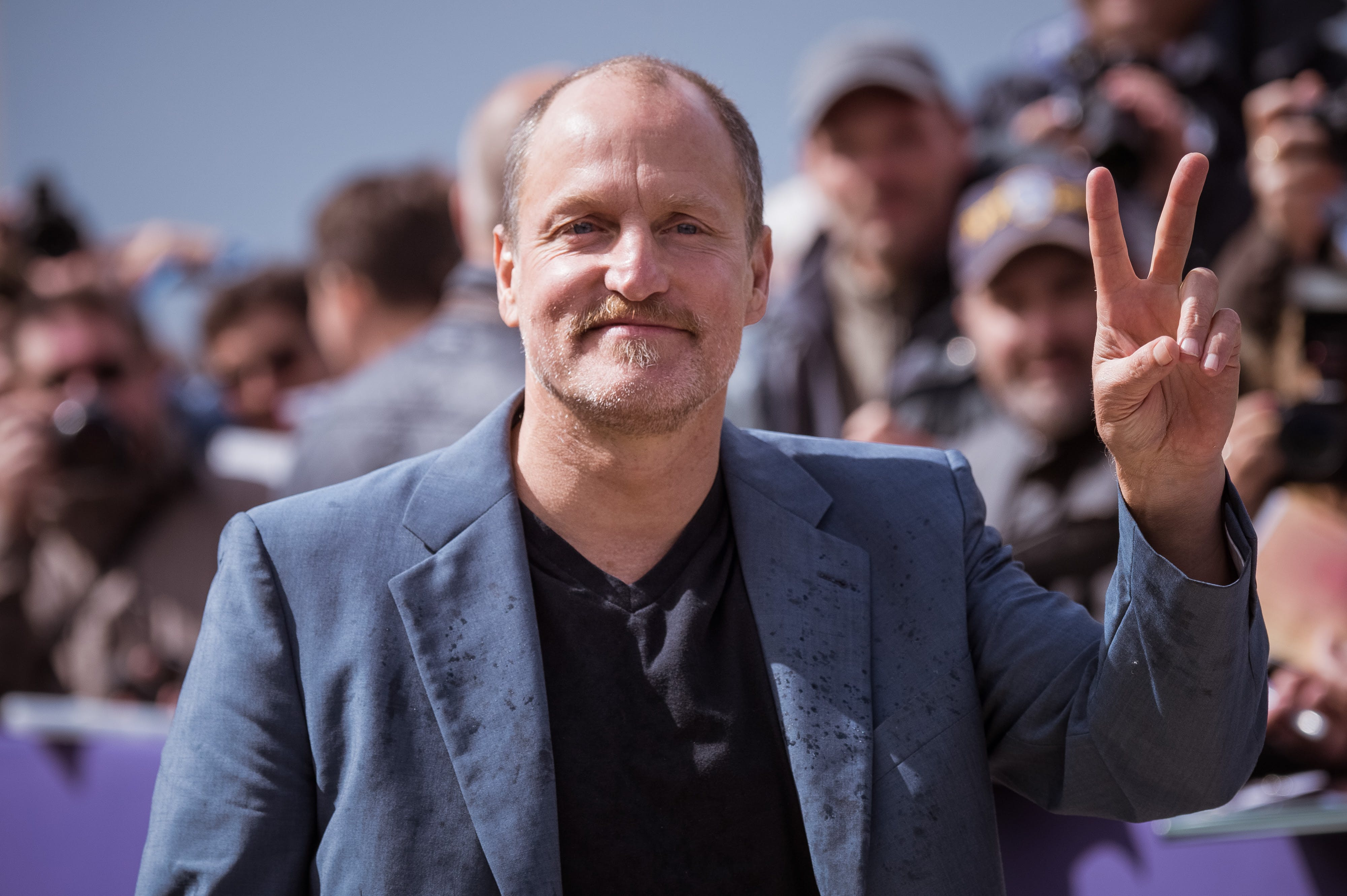 Woody Harrelson Smoked A Joint To Deal With Trump