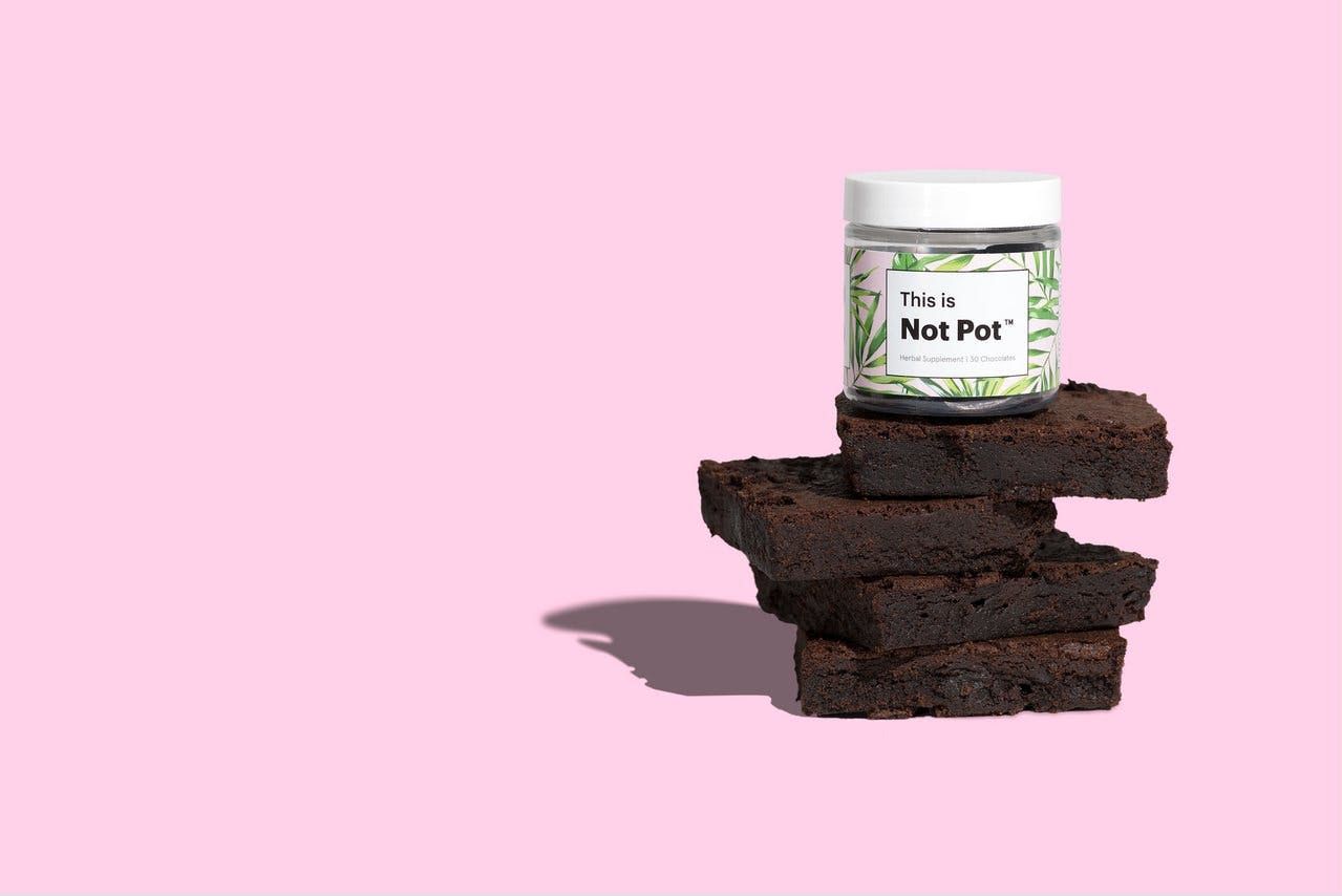 Not Pot CBD chocolate for anxiety
