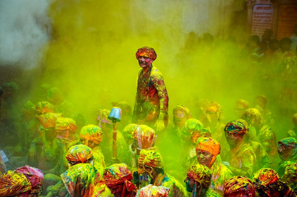 Holi is a festival of color and marijuana smoothies 1 of 1 To Save Her The Vision Of Her Child, This Mother Opened A Marijuana Grow Op In Brazil