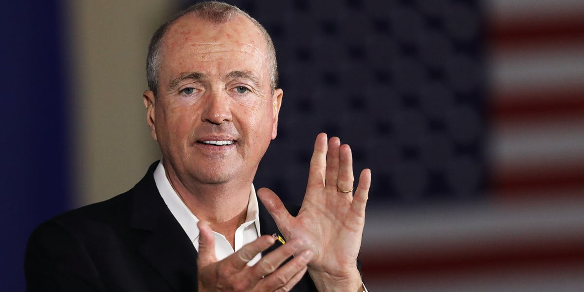 Democratic candidate Phil Murphy