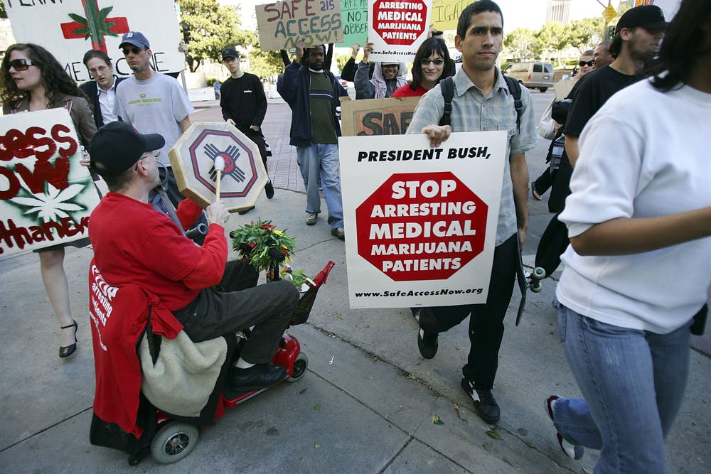 GettyImages 73076576 The US Military is waving cannabis use and letting medical marijuana patients serve
