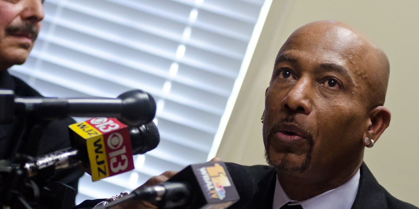 Montel Williams Speaks At a News Conference In Support Of Making Maryland The 16th State To Legalize Medical Marijuana