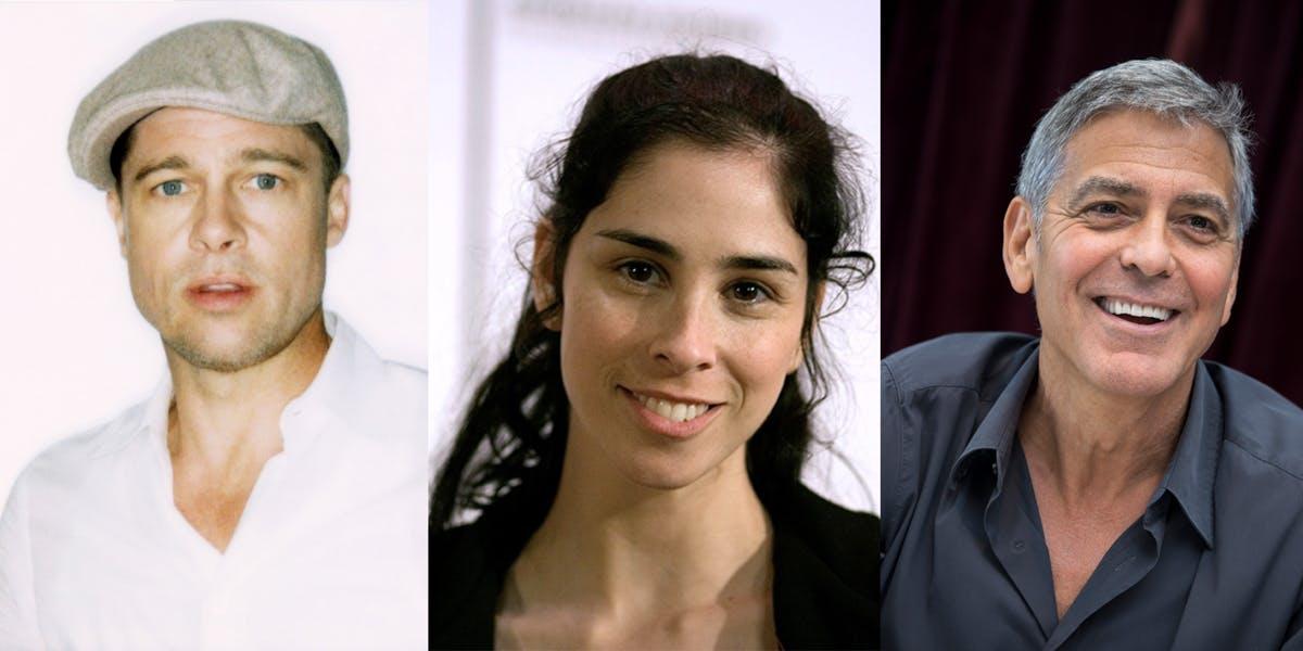 Brad Pitt, Sara Silverman, and George Clooney all use cannabis