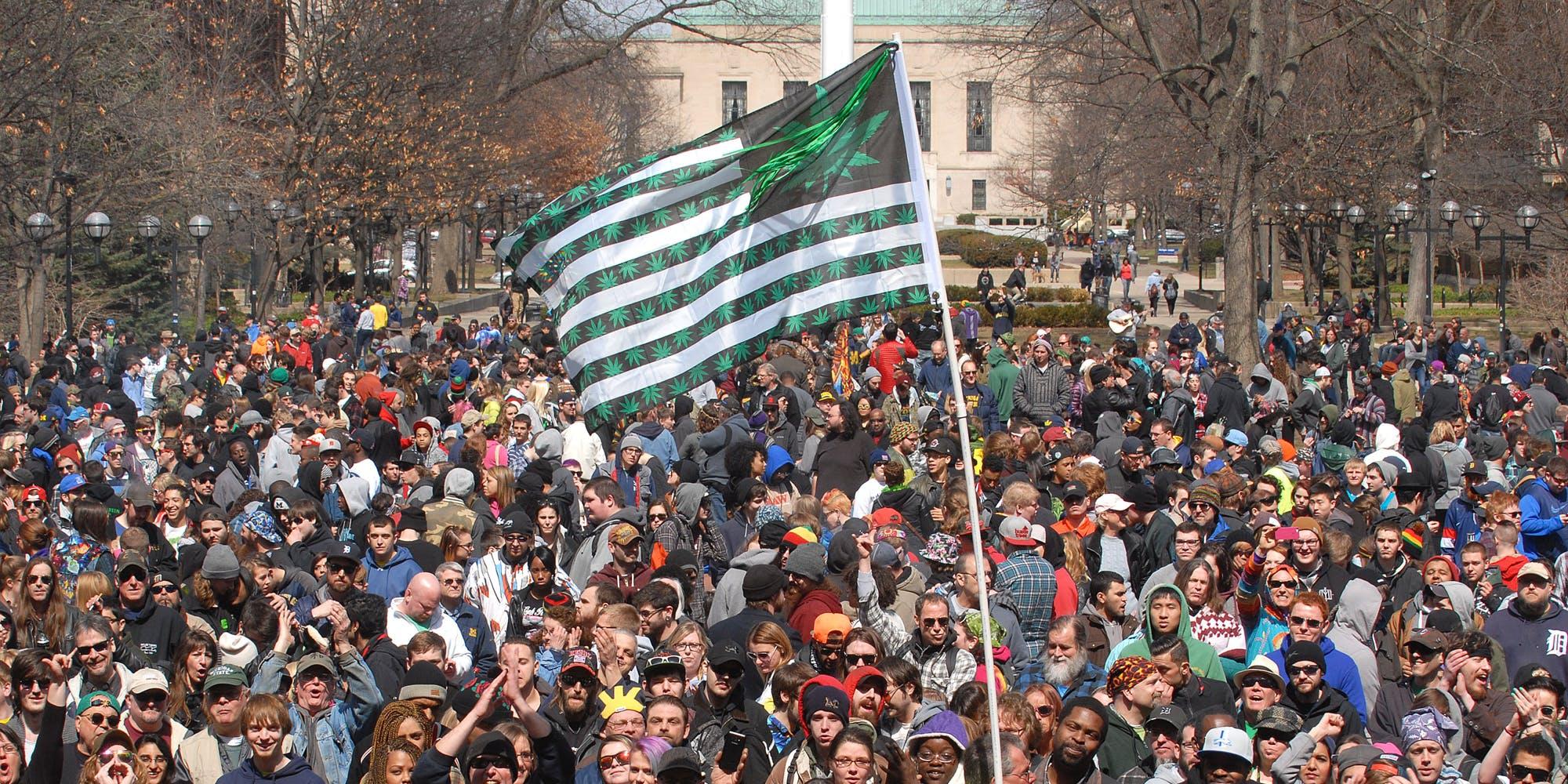 Hash Bash protests for marijuana legalization