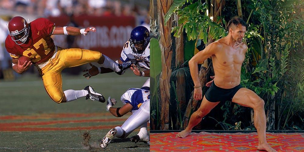 NFL player and Yogi