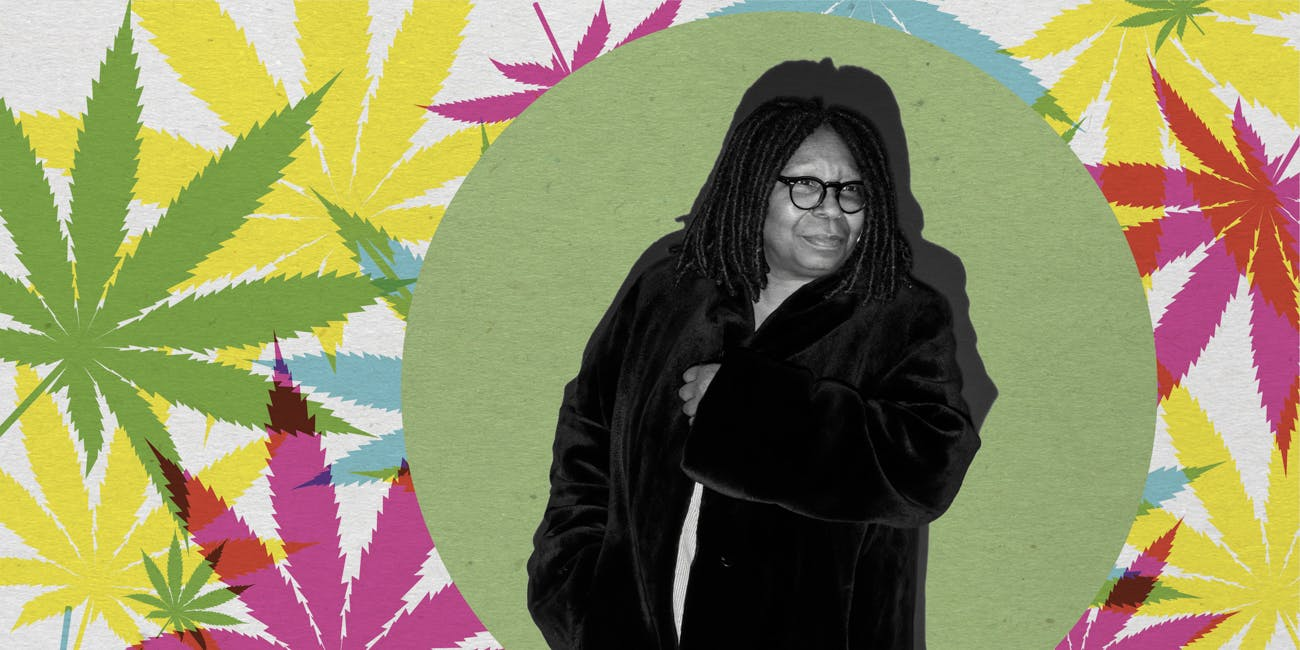 Whoopi Goldberg Is Getting Into The Weed Game To Help Women's Period Pain