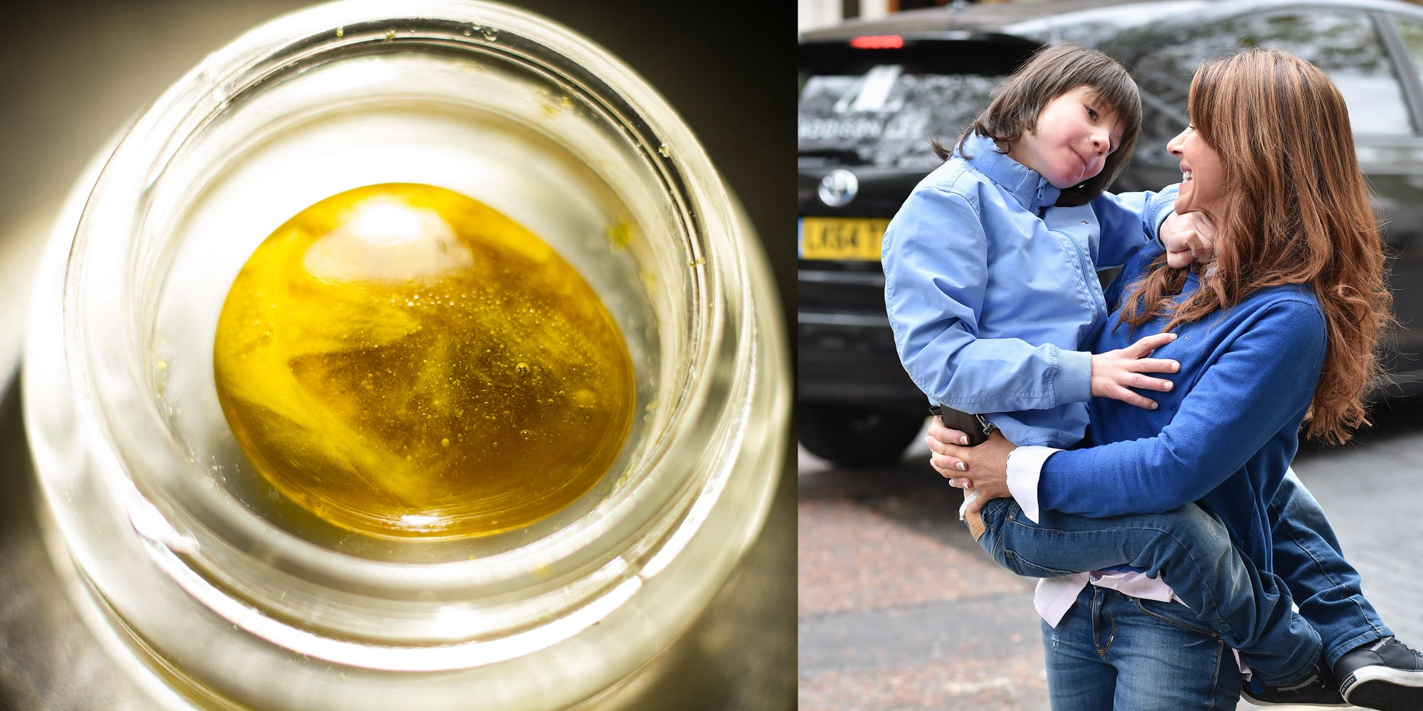 a user of cannabis oil in the UK