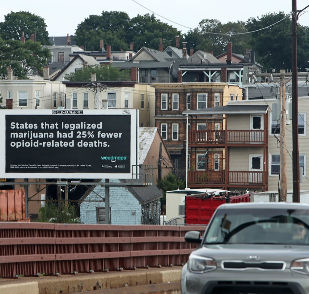 Activists buying billboards to show cannabis can treat opioid addiction 1 of 2 What needs to happen for Vermont to legalize marijuana