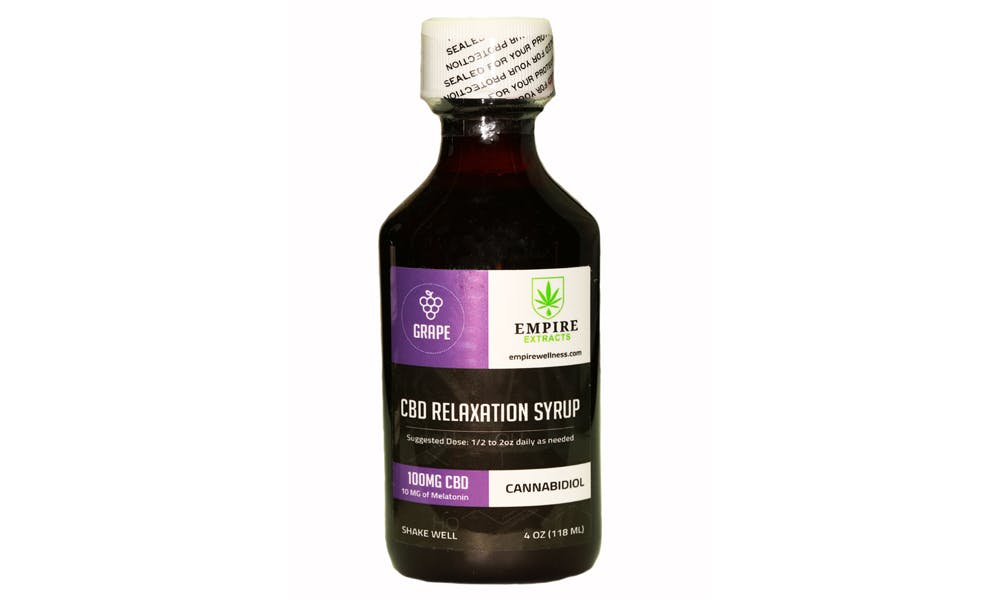 Untitled 221 Empire Wellness CBD Relaxation Syrup Deserves a Place in Your Medicine Cabinet