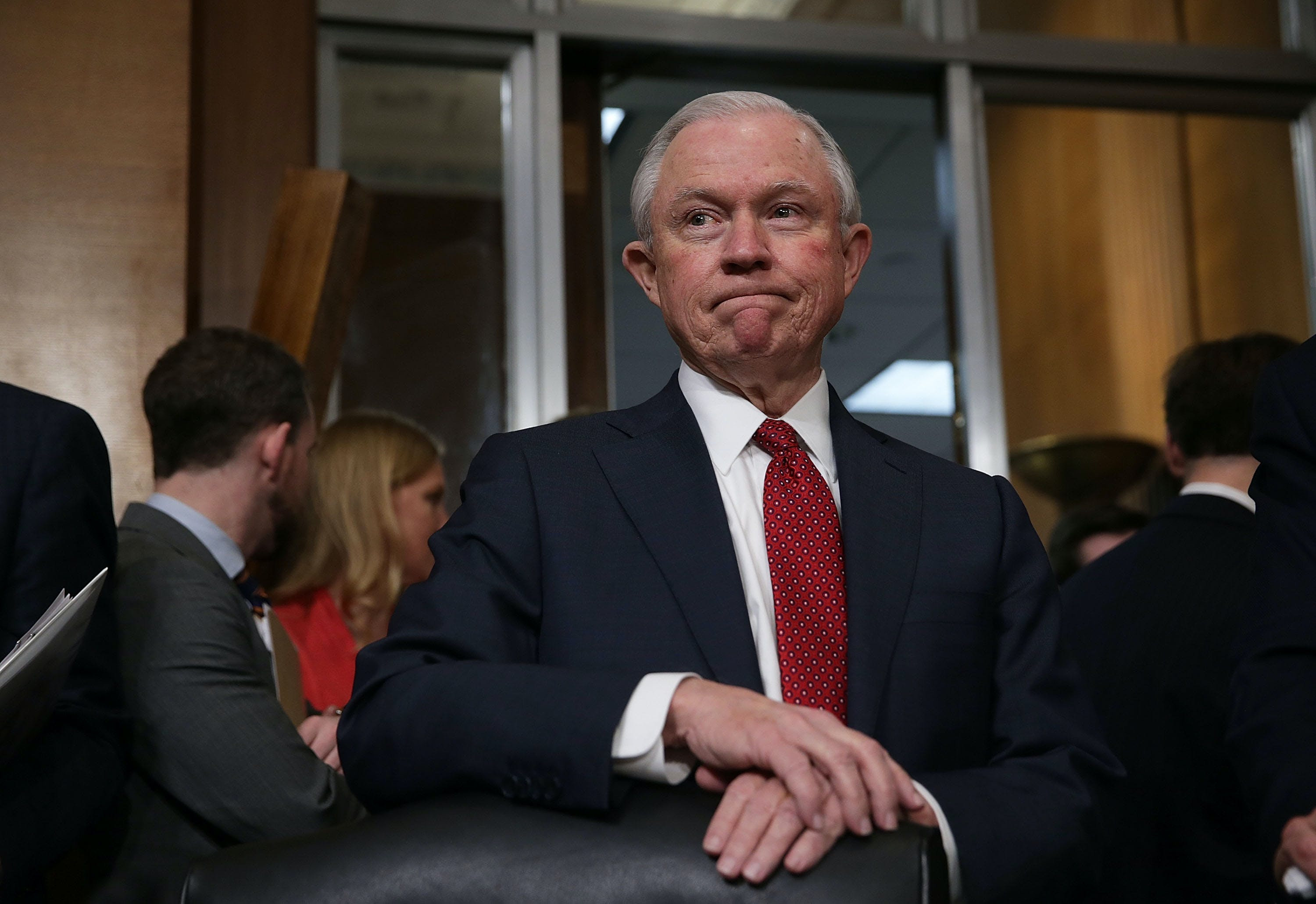 Jeff Sessions Fighting Legal Weed