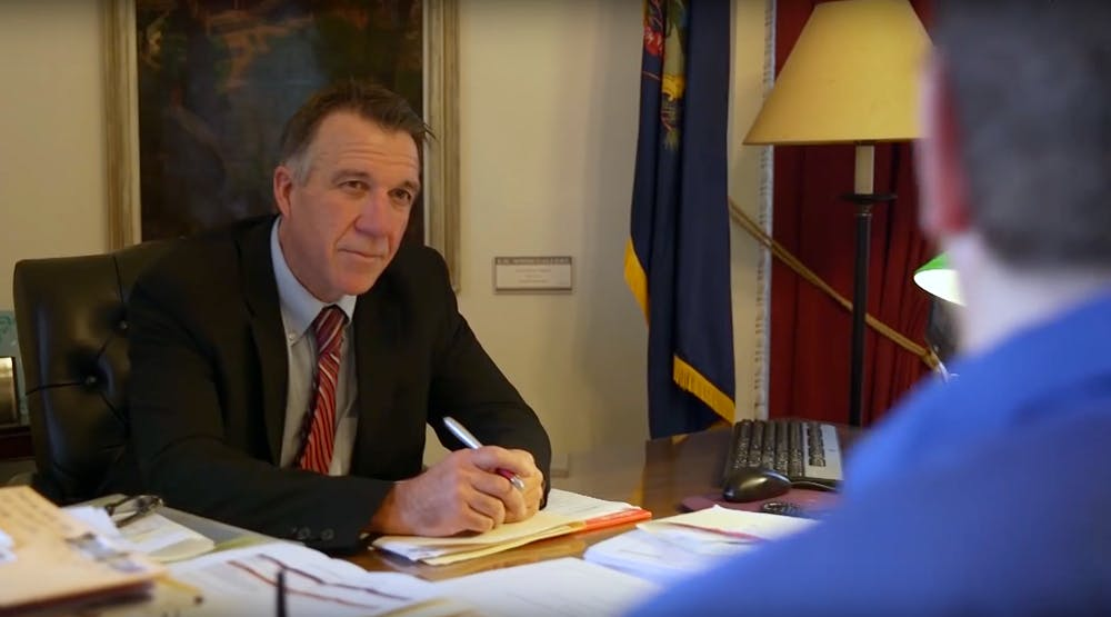Governor Phil Scott The government holds a patent on medical marijuana, yet claims it has no medical value