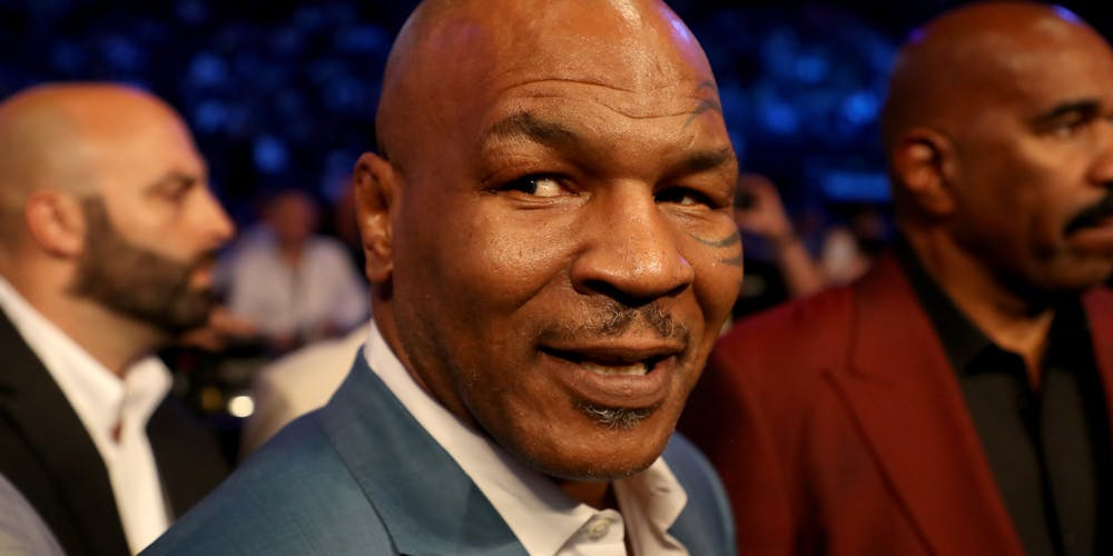 Mike Tyson admits he smoked weed before fighting Andrew Golota