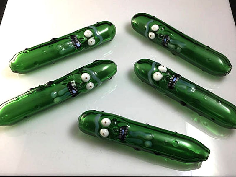 Pickle rick 7 things for weed smokers who love Rick and Morty