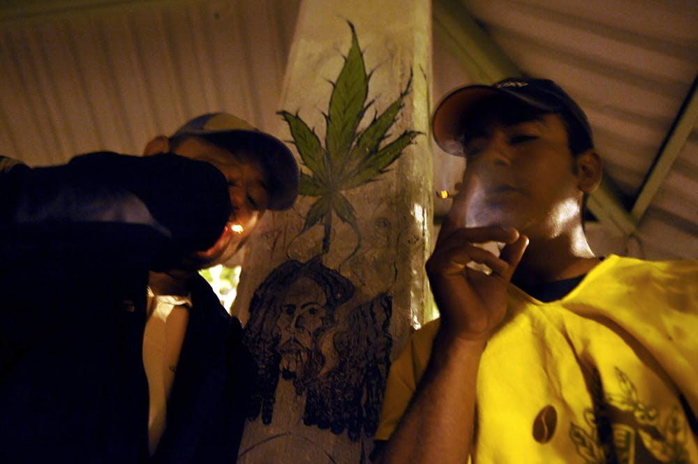 SecondHandSmokingFailDrugTest Police who forced a man to eat weed now have to pay him $100,000