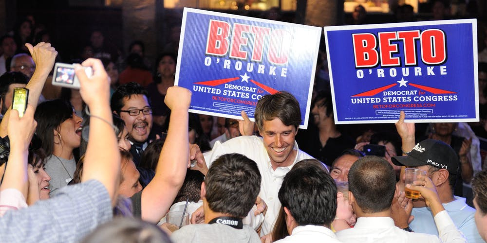 O'Rourke became a Texas rep in 2012 after a clinching battle with a vetted incumbent, eight-term rep Silvestre Reyes. Many expected Reyes to keep his seat.