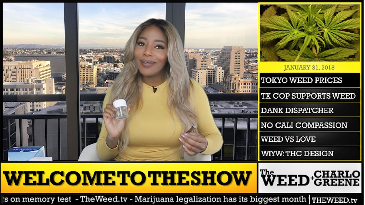 The Weed Show How to microdose weed and treat anxiety