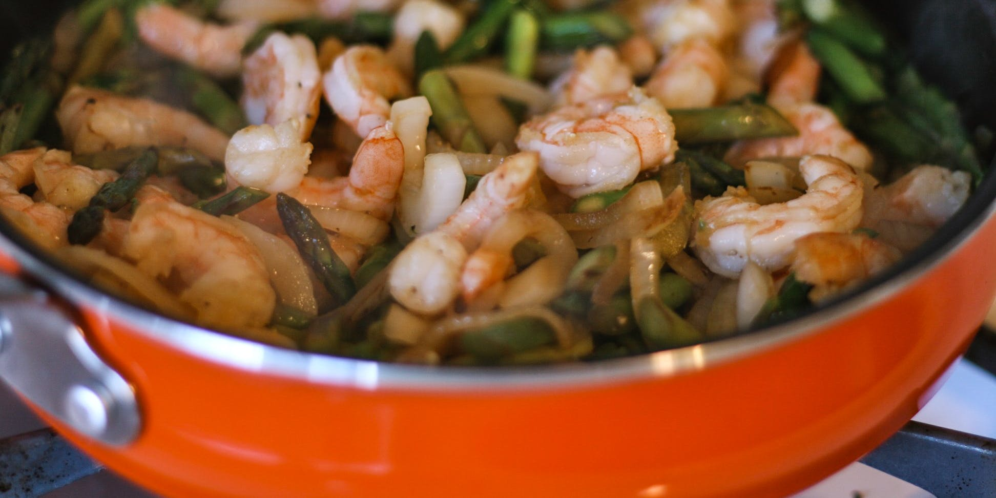 How To Make Cannabis Infused Super Shrimp Stir Fry | HERB Recipe