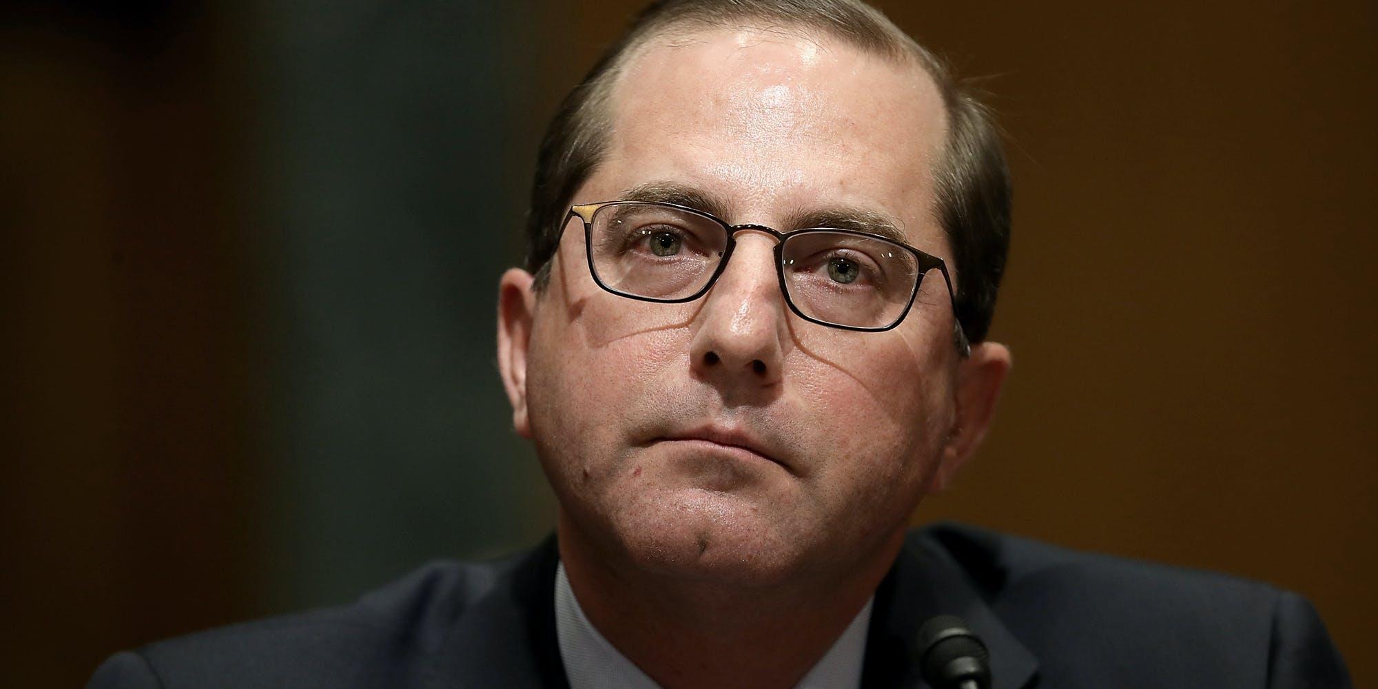 U.S. Health And Human Services Secretary Alex Azar Says Medical Marijuana Doesn't Exist