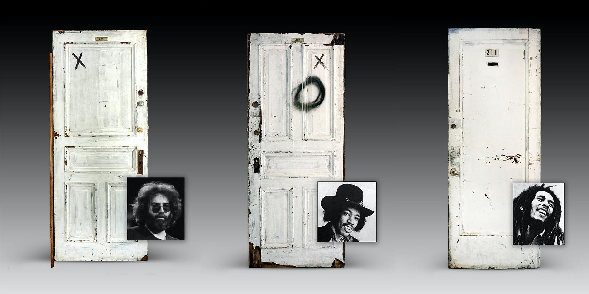 The Chelsea Hotel To Auction Off Doors Belonging To Jimi Hendrix, Bob Marley, and More
