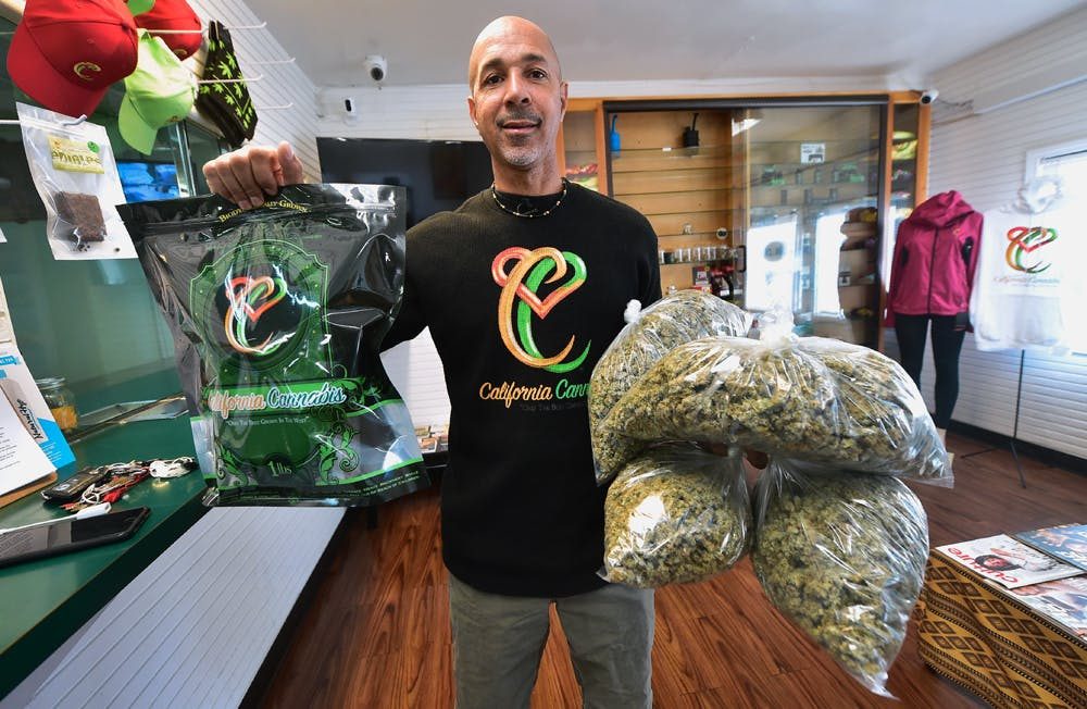 GettyImages 919284392 Voters, beware: We interviewed the Cannabis Candidate and hes full of it