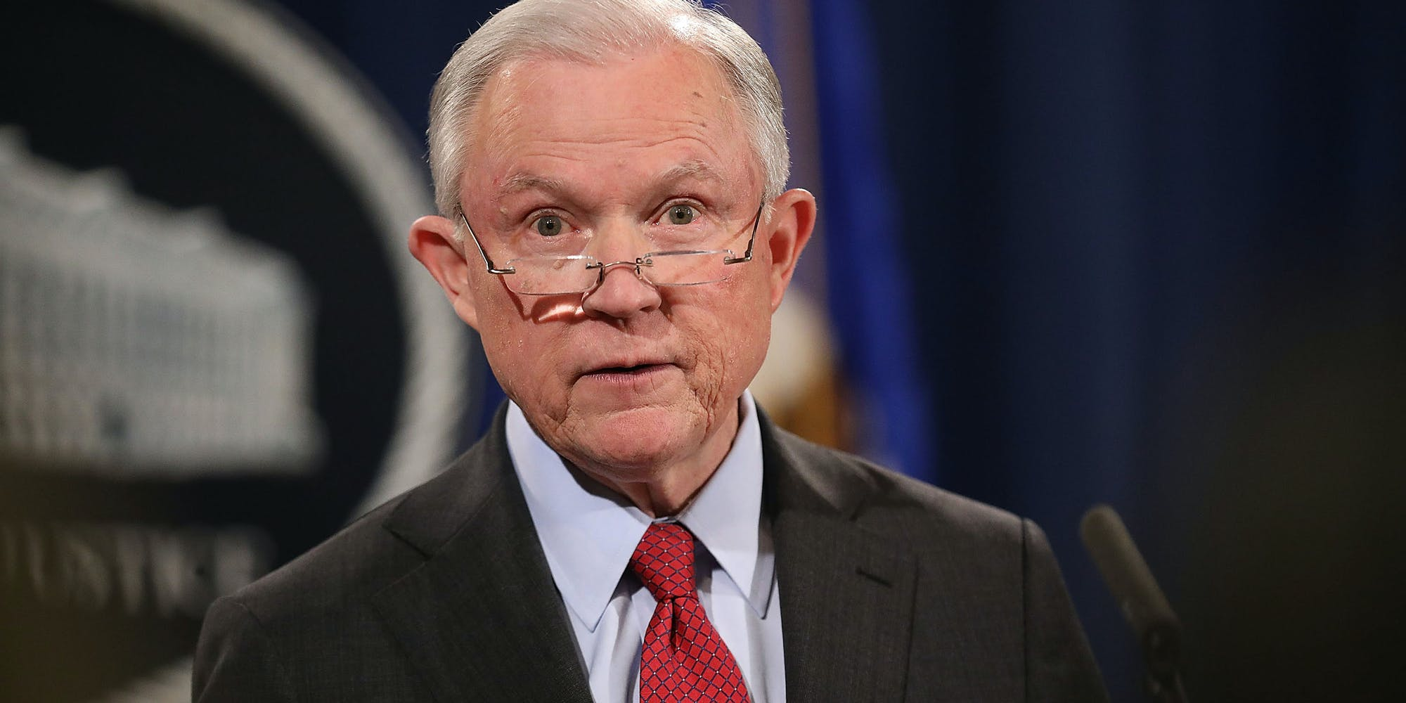 Jeff Sessions Says The Feds Don't Have The Resources To Crackdown On Legal Marijuana