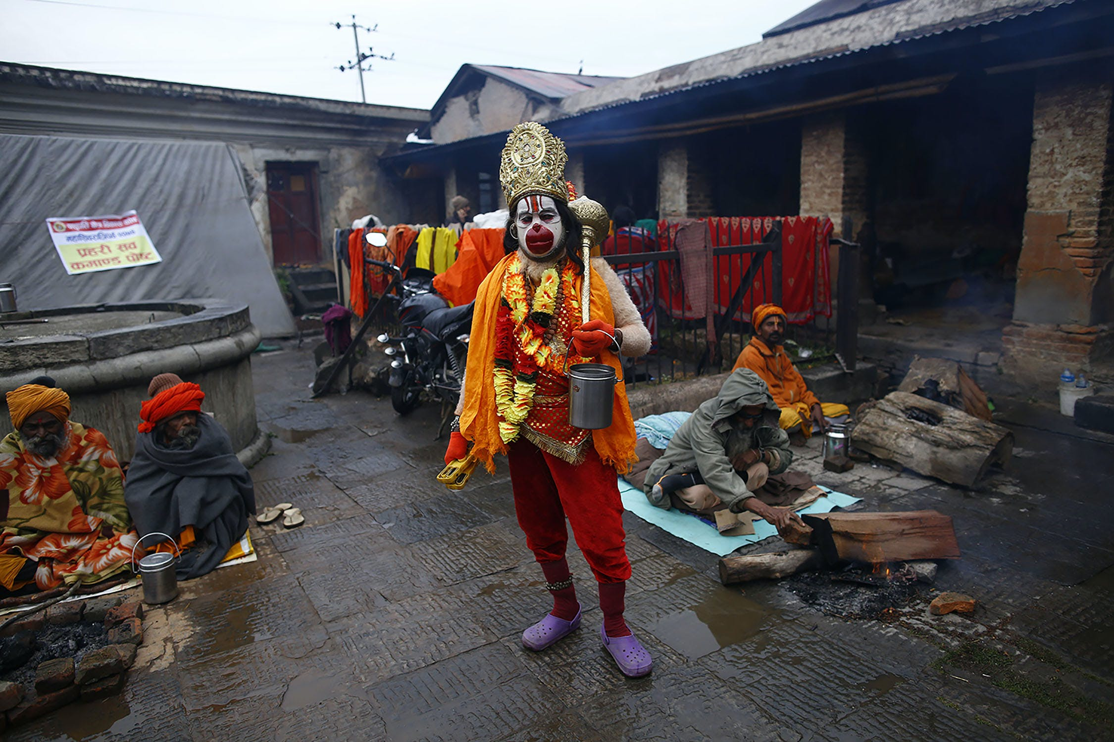 KAN2019 Inside the festival in Nepal where smoking weed is holy