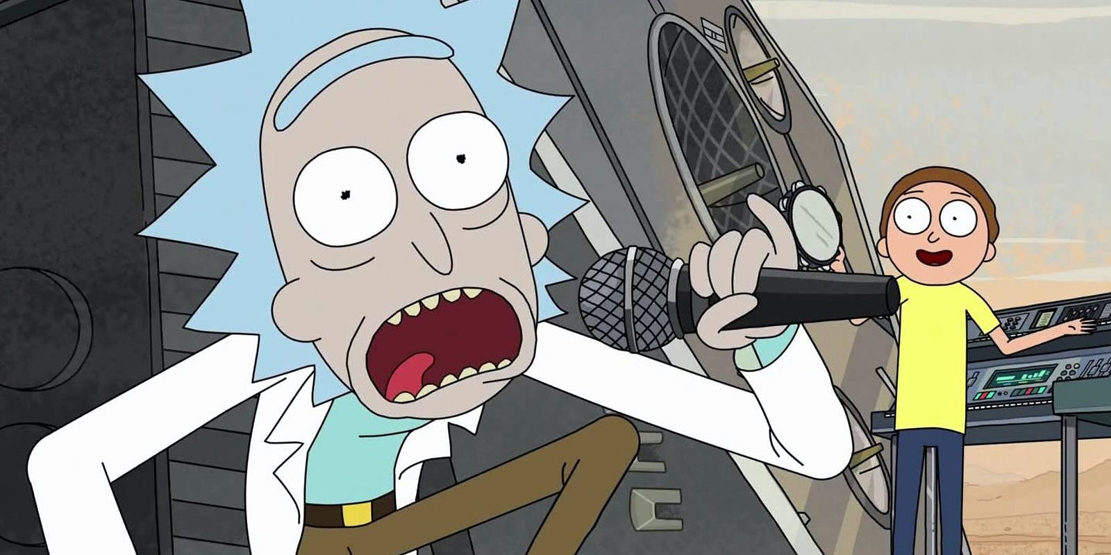 Rick and Morty announce new mixtape from Logic