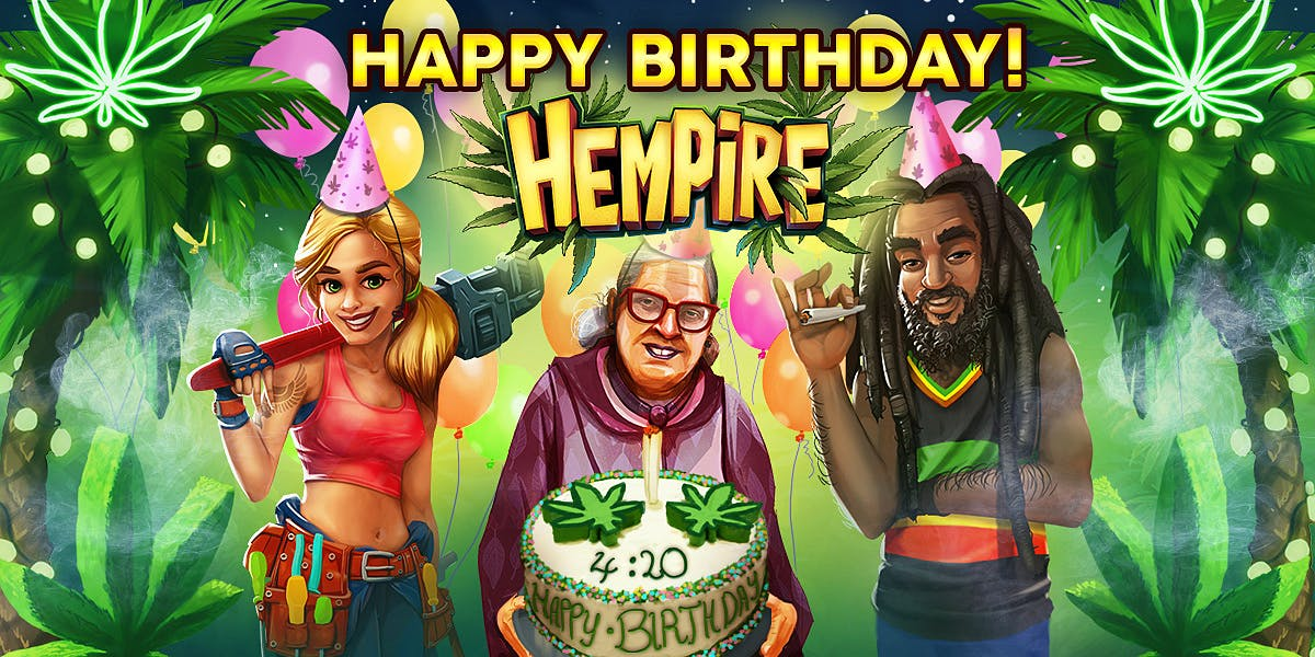 Celebrating 4/20 and 1 Year of Hempire