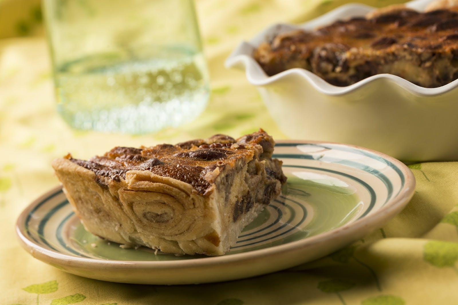Cannabis Infused Cinnamon Nut Pie