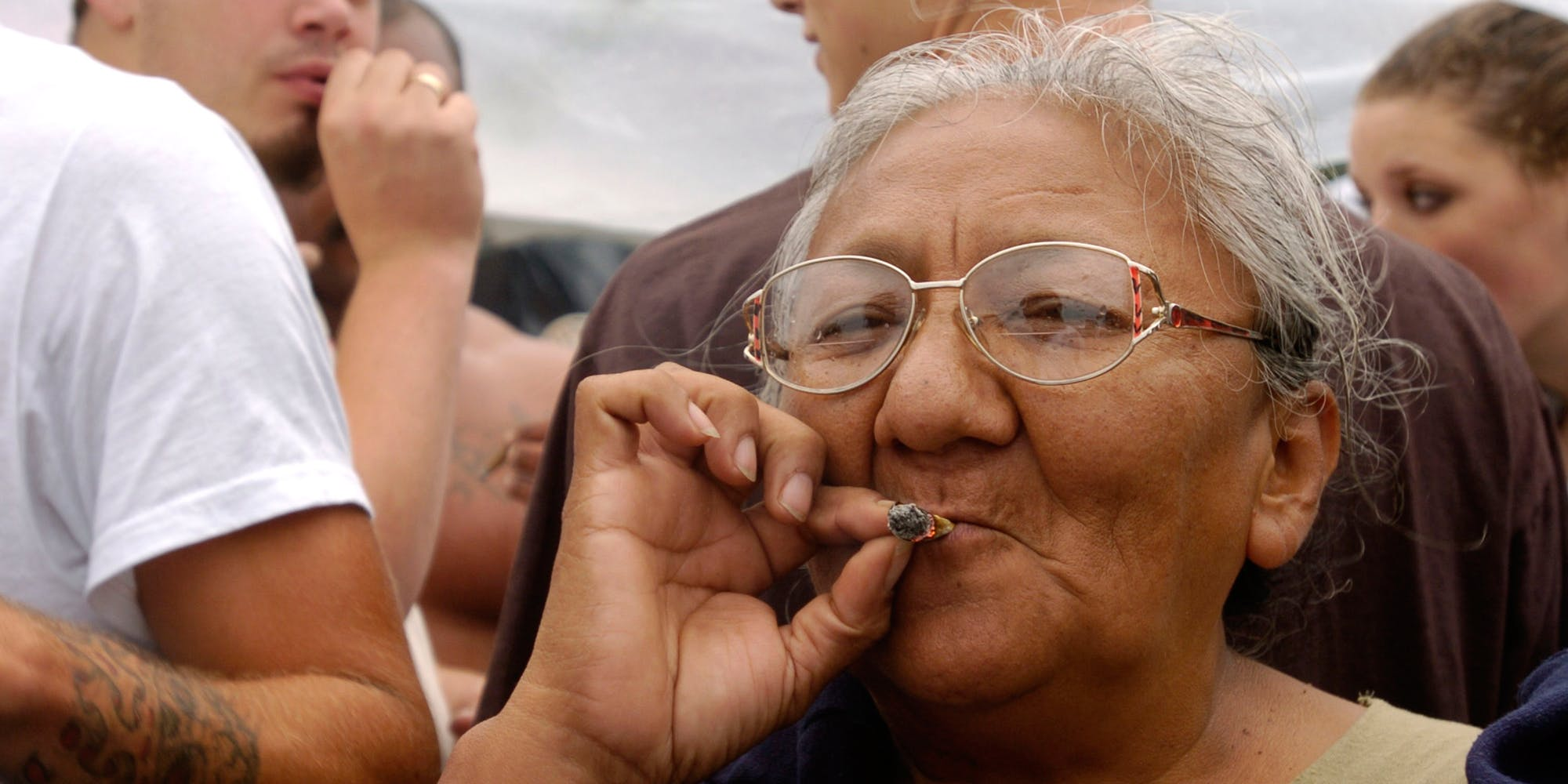 Older Americans Are 20x More Likely To Be Getting High Than They Were Thirty Years Ago