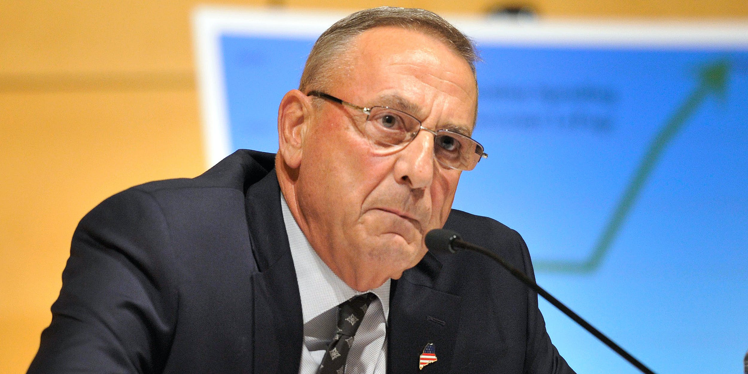 Maine Governor Paul LePage Blocks Recreational Marijuana Sales