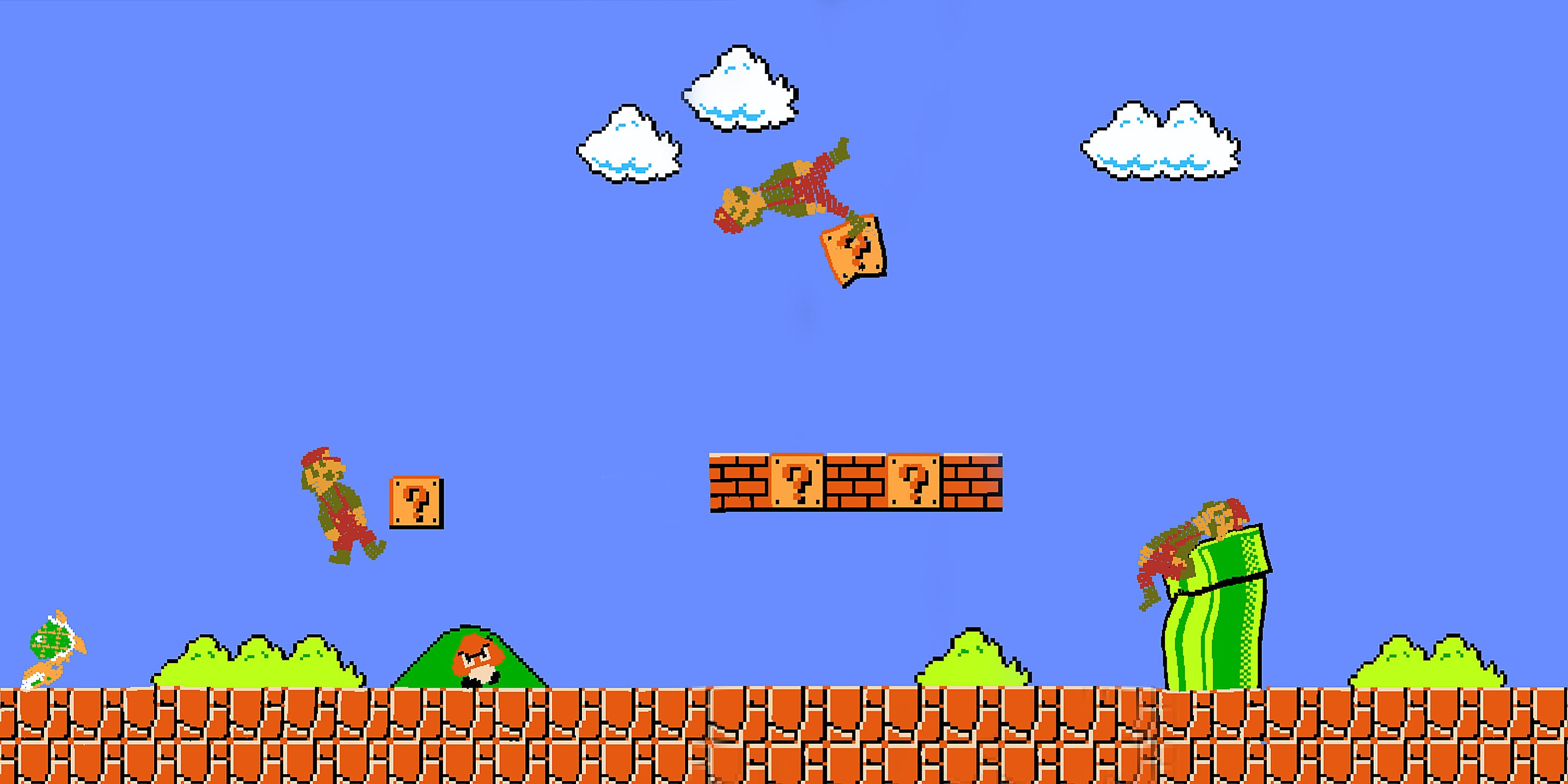 The Trippy, New Super Mario Bros Is Way Better For High Gaming
