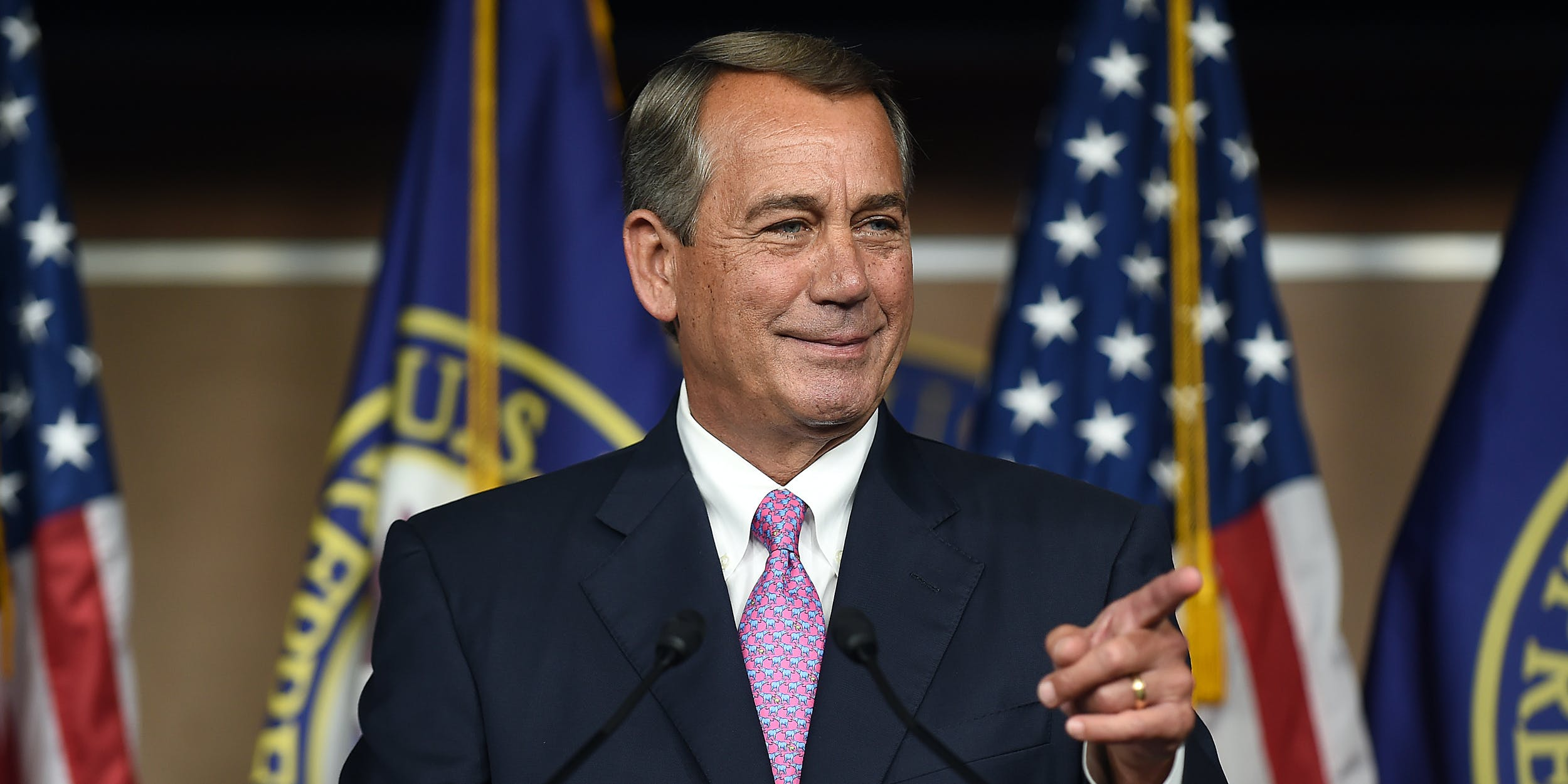 Former Speaker of the House John Boehner just publicly supported de-scheduling cannabis