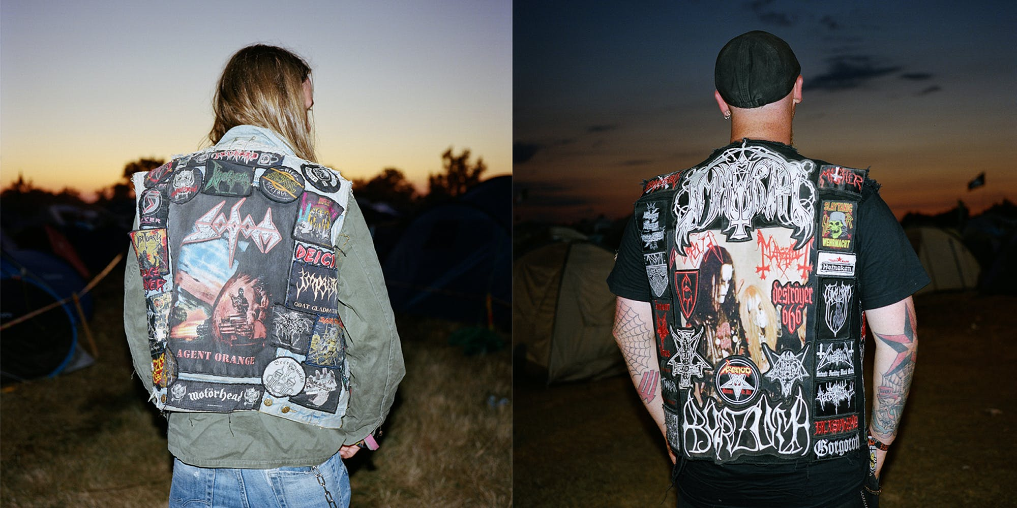 An Intimate Look At The Scars And Patches Of Mosh Pits At Metal Concerts