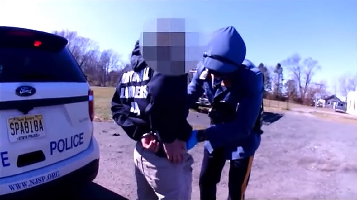 NJ State Troopers Conduct An Invasive Roadside Pat-Down After Smelling Marijuana