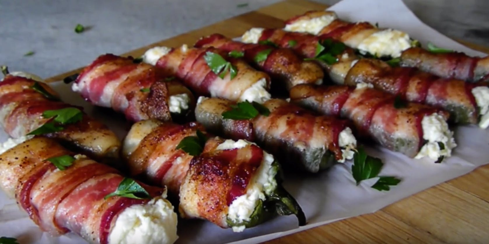 How To Make Infused Bacon-Wrapped Jalapeños