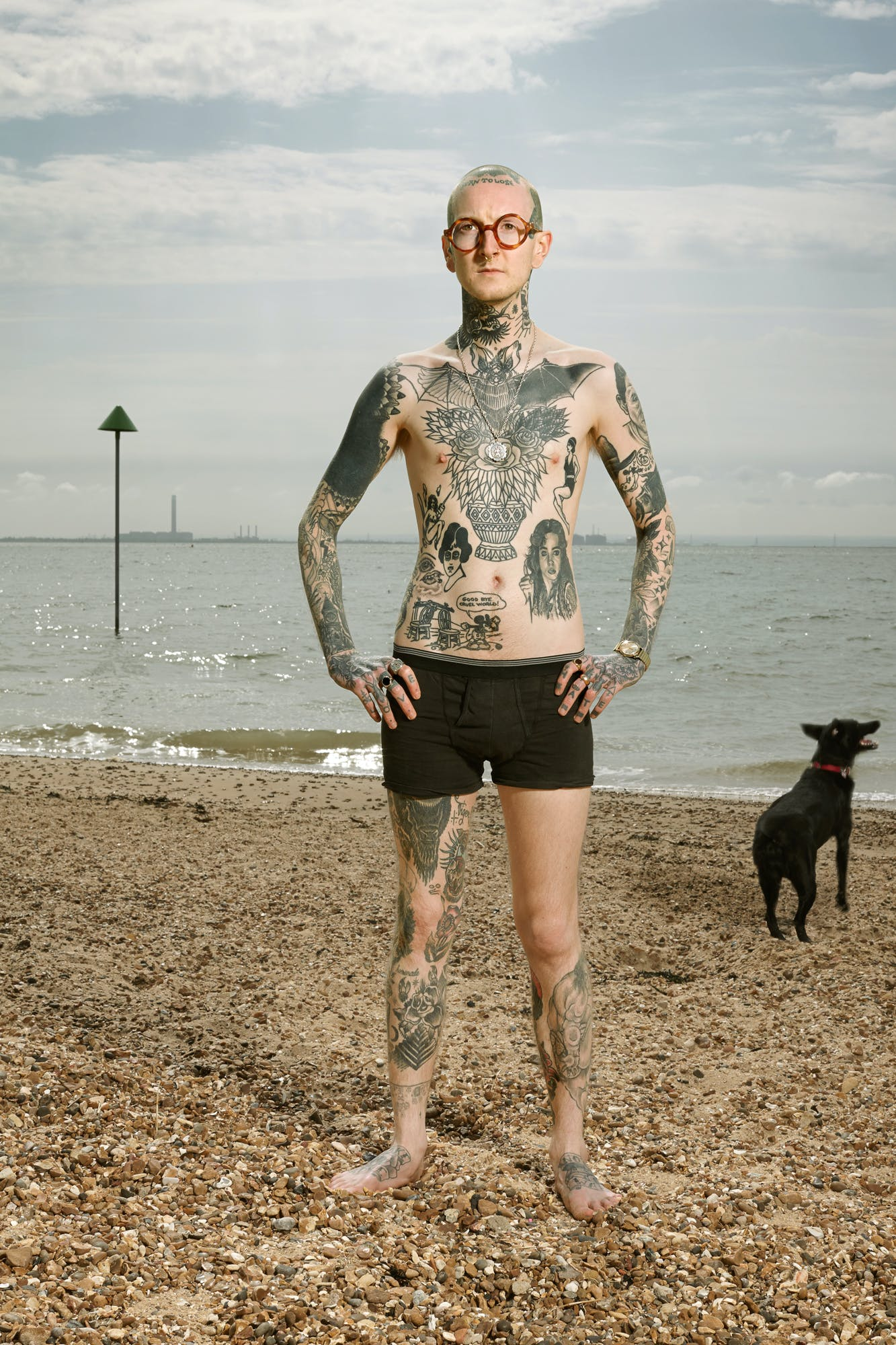 Alan Powdrill Raw Portraits Of The People Devoted To Full Body Tattoos 13 Manhattans District Attorney Will No Longer Prosecute Low Level Cannabis Crimes
