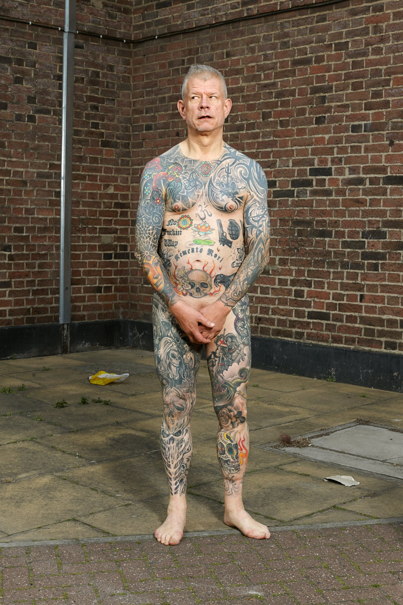 Alan Powdrill Raw Portraits Of The People Devoted To Full Body Tattoos 16 Manhattans District Attorney Will No Longer Prosecute Low Level Cannabis Crimes