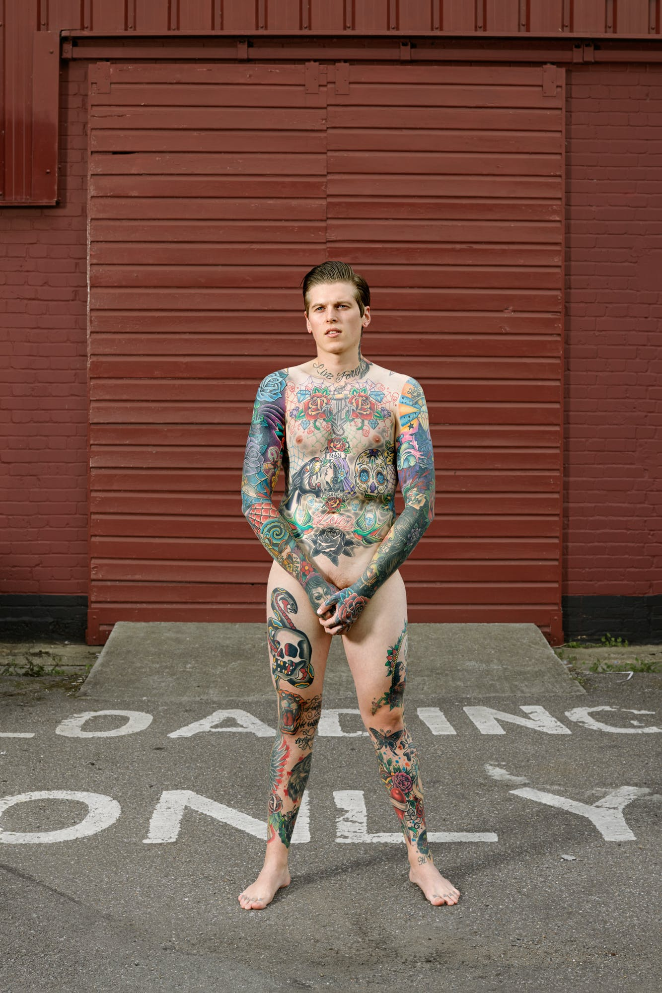 Alan Powdrill Raw Portraits Of The People Devoted To Full Body Tattoos 3 Manhattans District Attorney Will No Longer Prosecute Low Level Cannabis Crimes