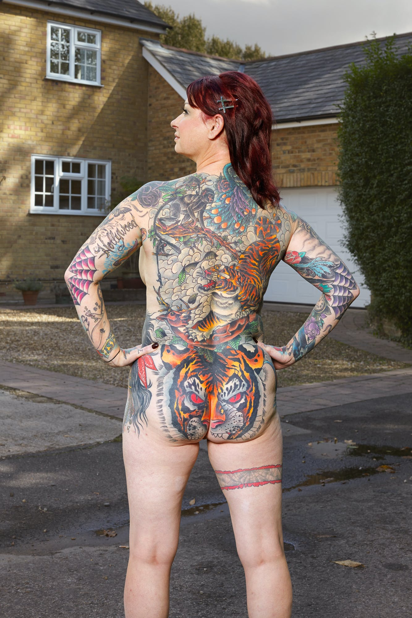 Alan Powdrill Raw Portraits Of The People Devoted To Full Body Tattoos 5 Manhattans District Attorney Will No Longer Prosecute Low Level Cannabis Crimes