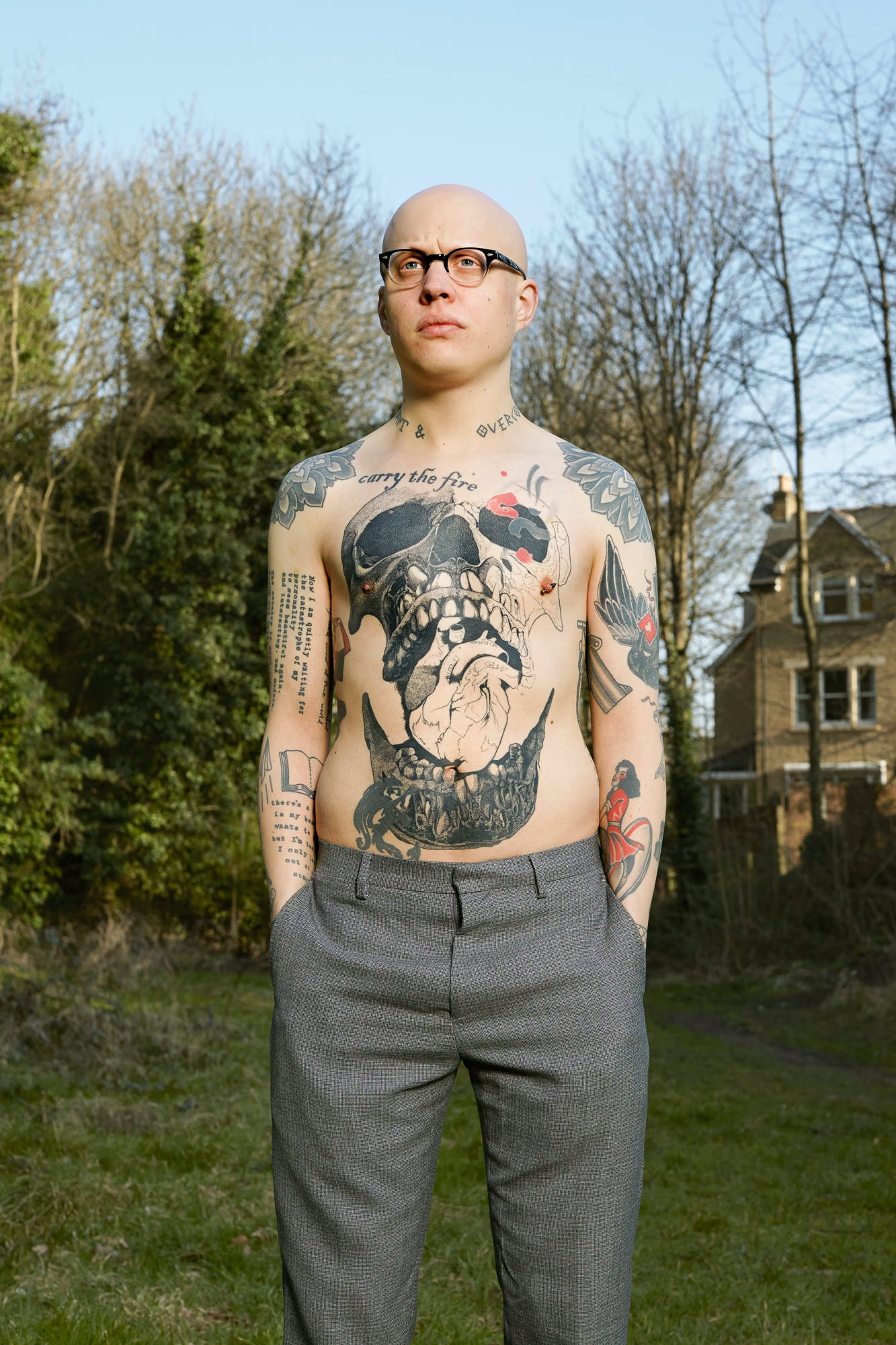 After image of a Man Devoted To Full Body Tattoos