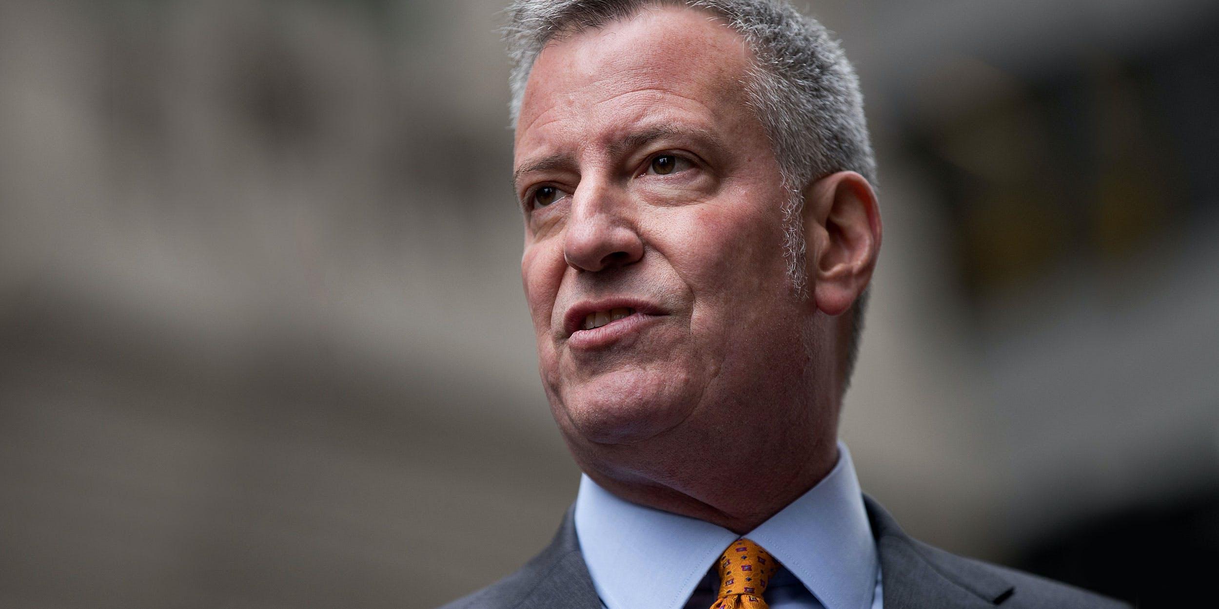 New York City Mayor Bill de Blasio Wants Marijuana Justice Reform