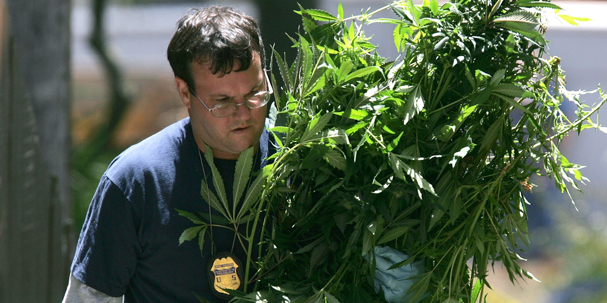 Federal Agents Raid Medical Marijuana Club in 2005