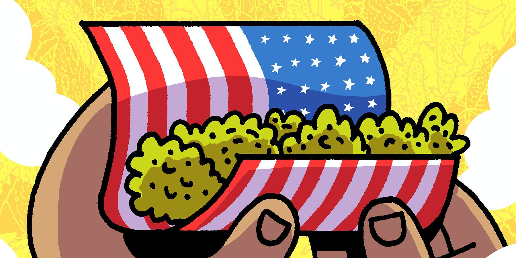 Why NYT Bestselling Cartoonist Box Brown Is Taking On The History Of Cannabis