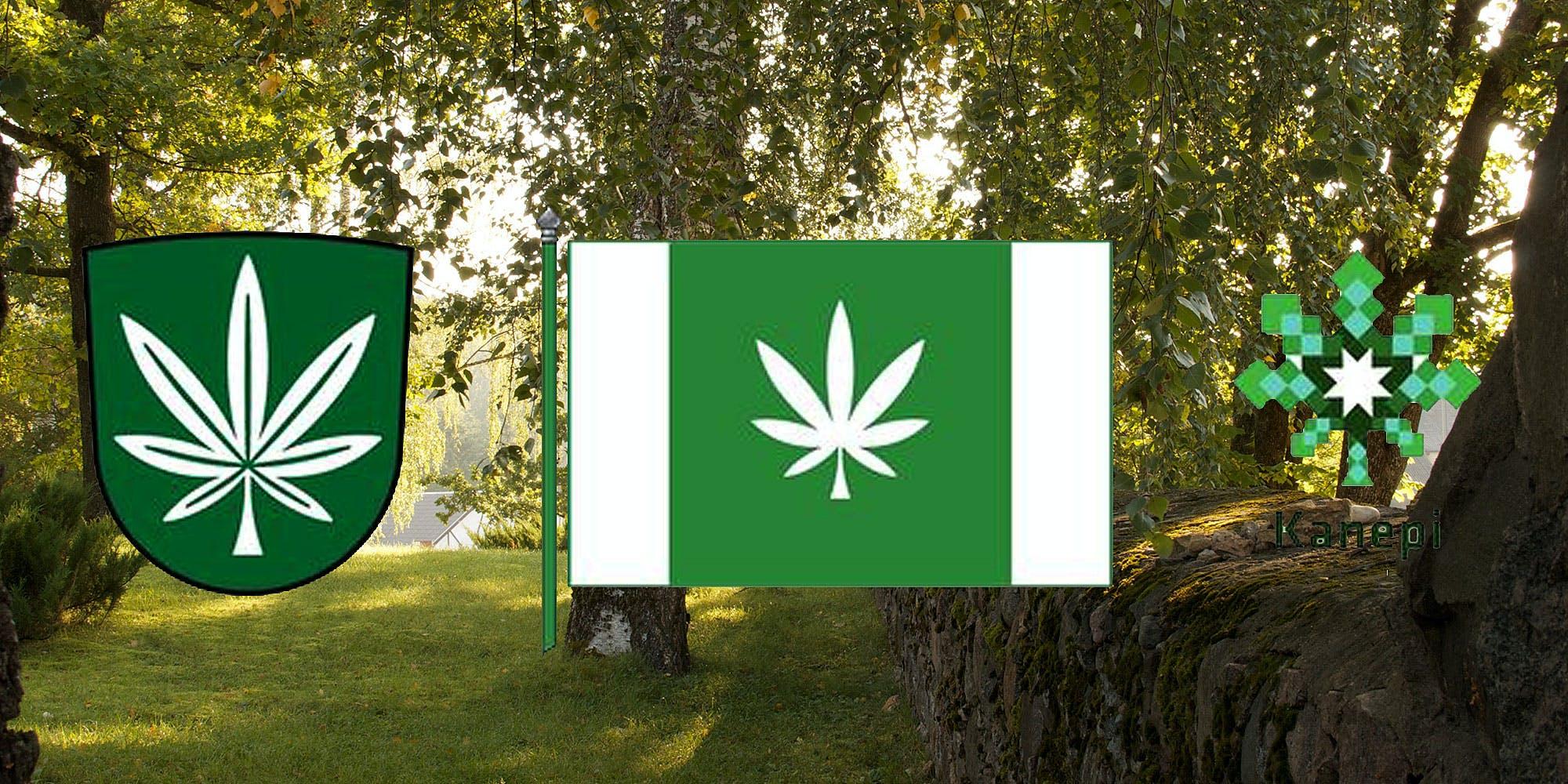 Estonian Town Adopts Cannabis Leaf As New Flag
