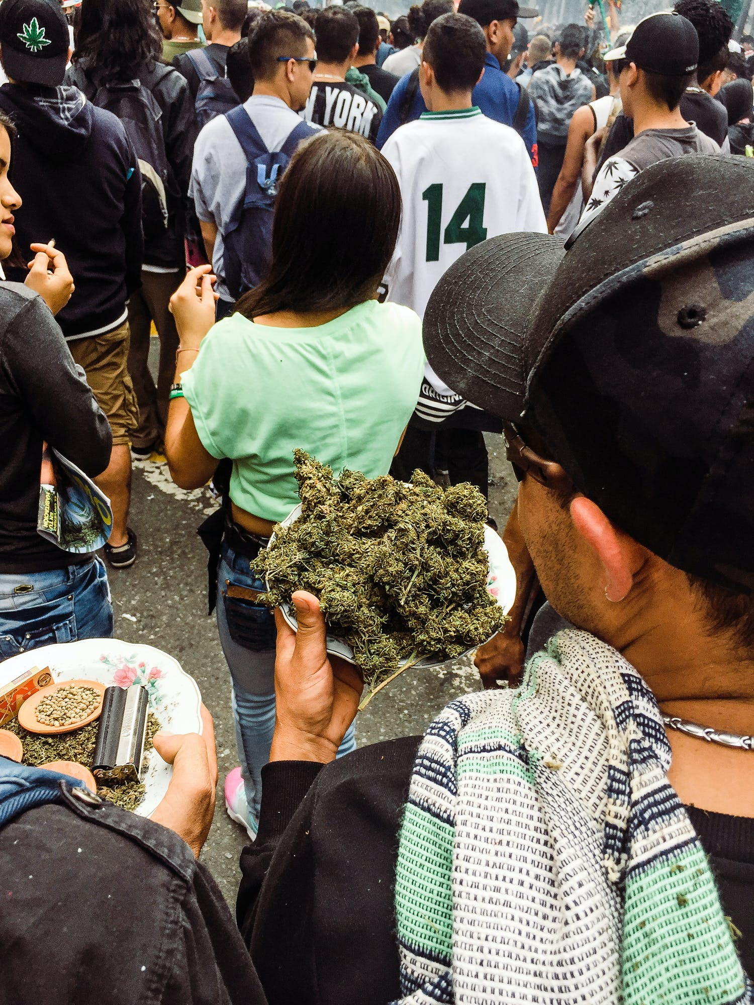 IMG 0576 We marched with 100,000 people in Colombia for cannabis reform