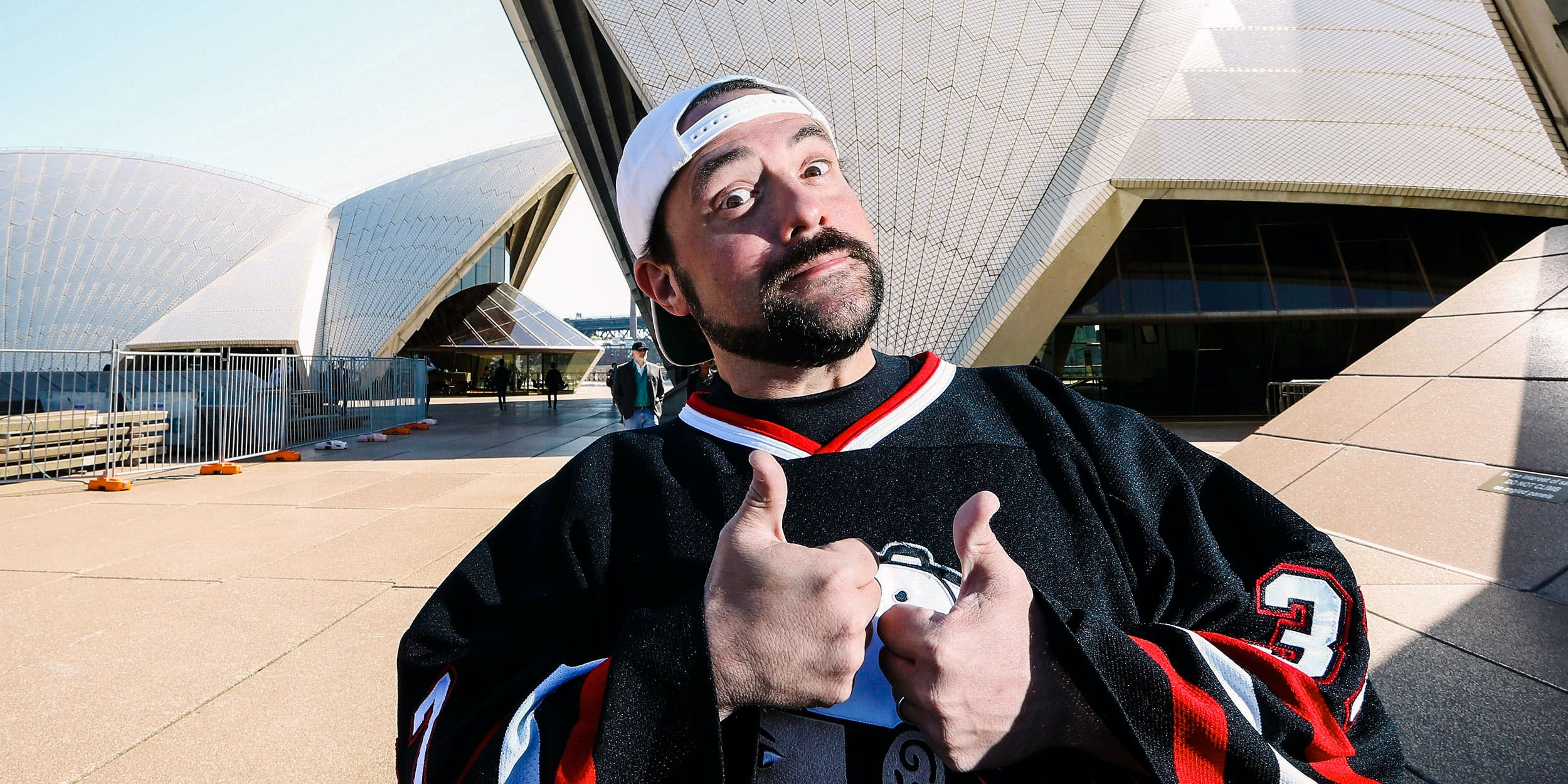 Kevin Smith's Doctor Told Him Smoking Weed Saved His Life