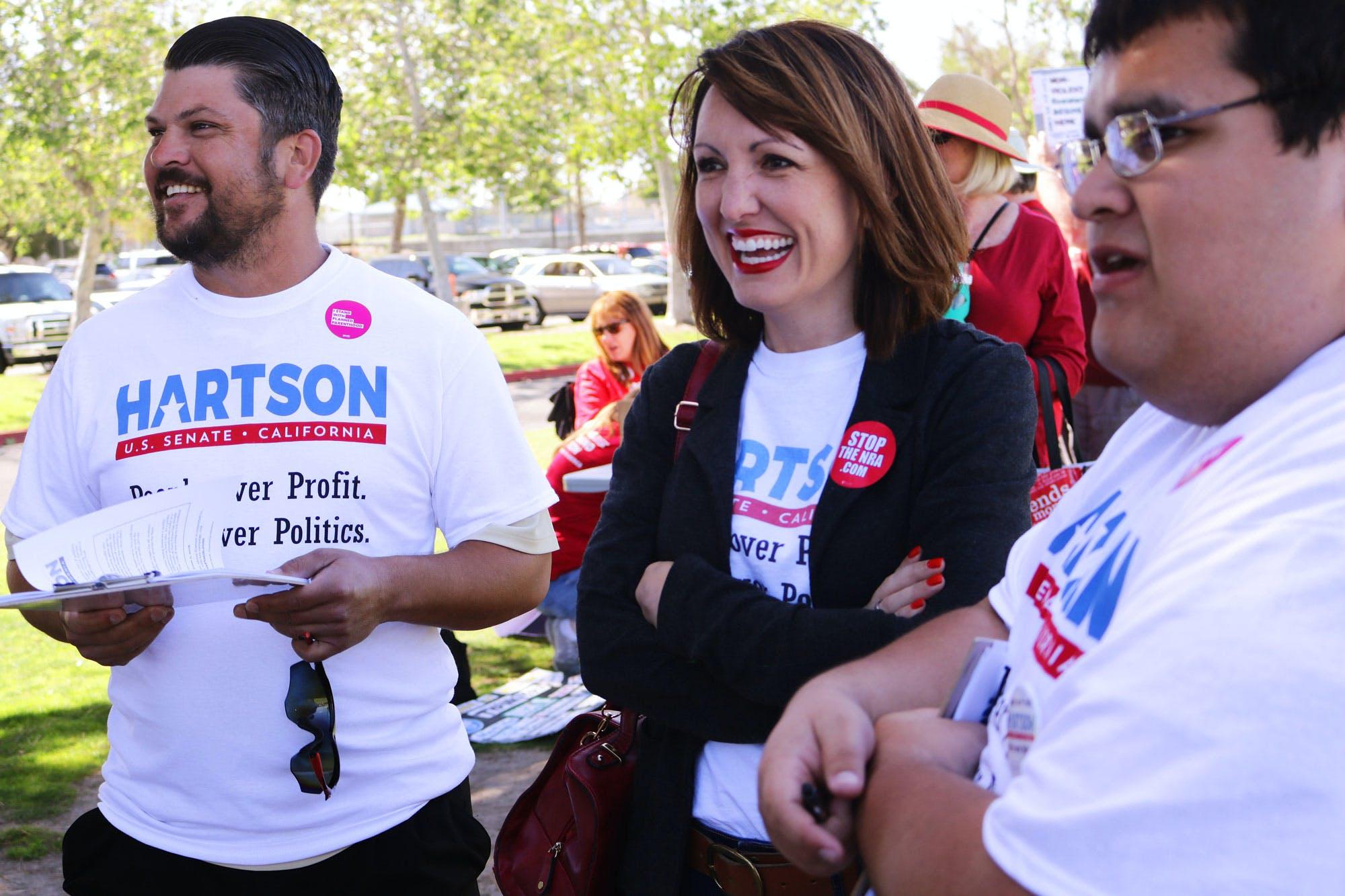 Pro cannabis Senate candidateAlison Hartson left out of polls in California Congress Blocks Recreational Marijuana Sales In Washington, D.C.