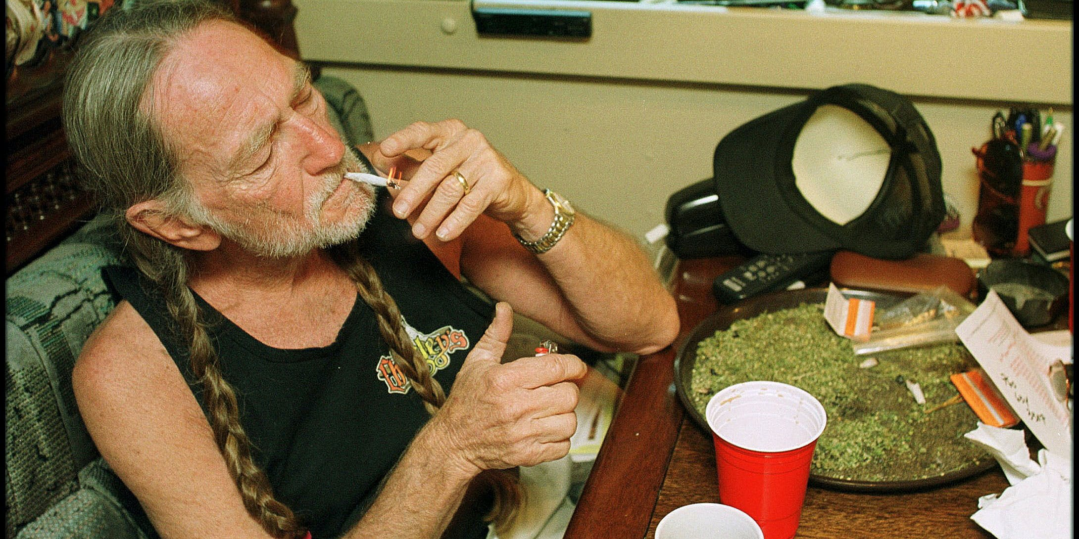 At 85, Willie Nelson Releases His 67th Album and a Weed Strain To Go With It