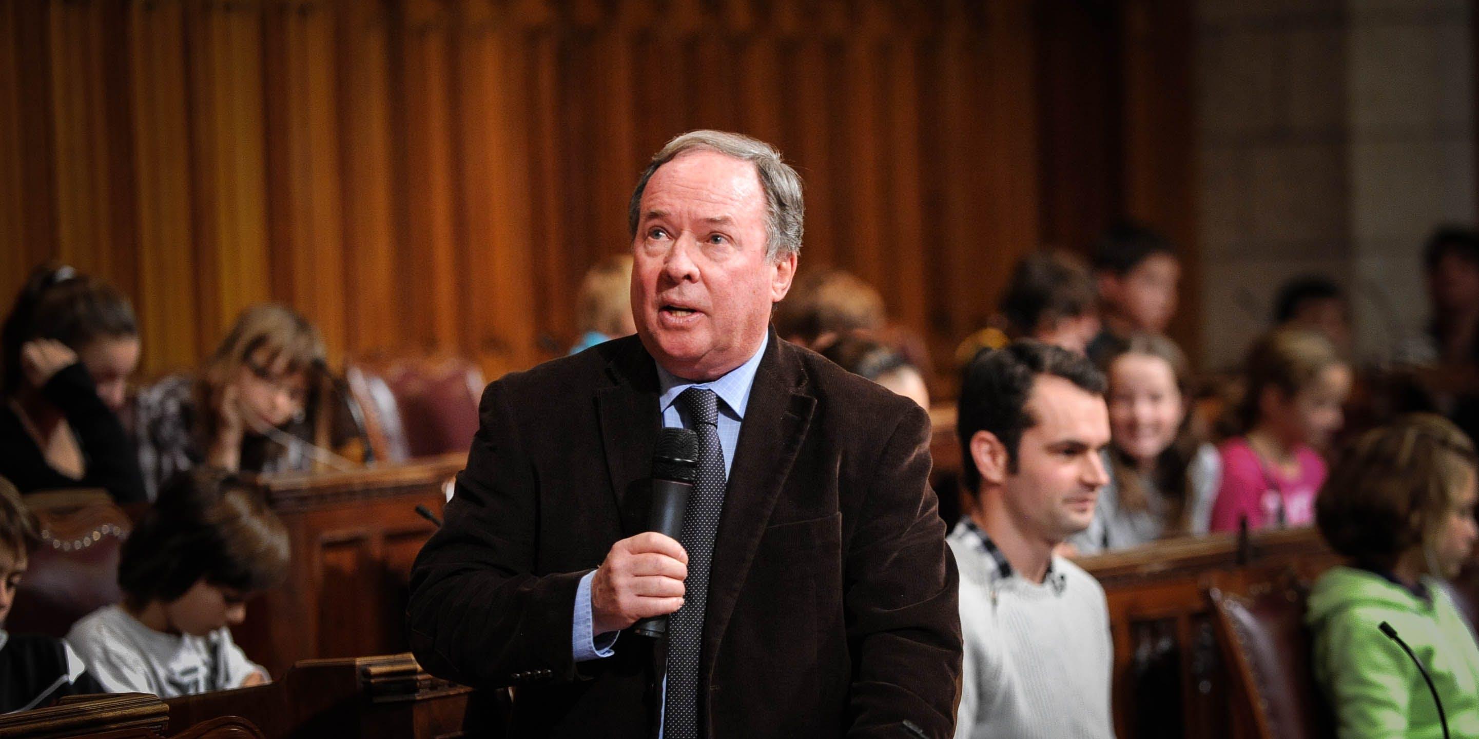 Photo courtesy of Senator Jim Munson
